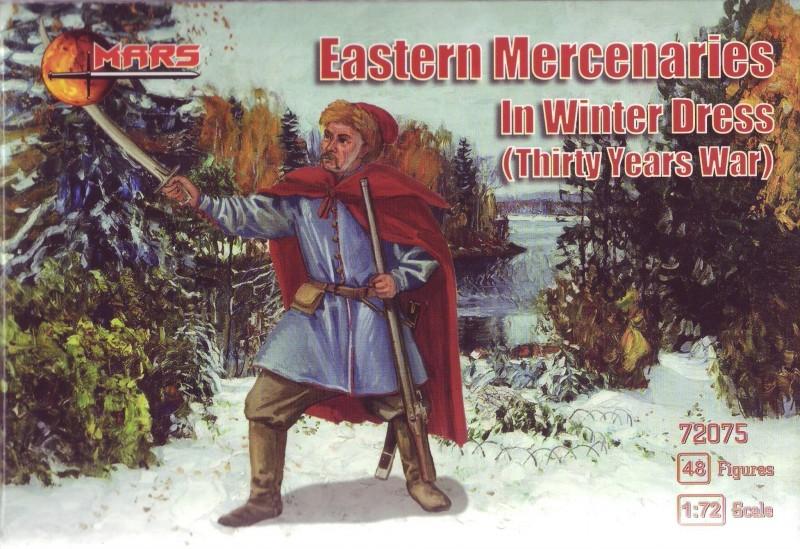 Mars Figures 1/72 Thirty Year War Eastern Mercenaries Winter Dress (48)