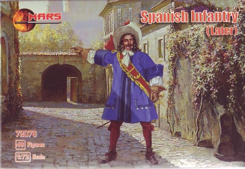 Mars Figures 1/72 Spanish Infantry (Later) (48)