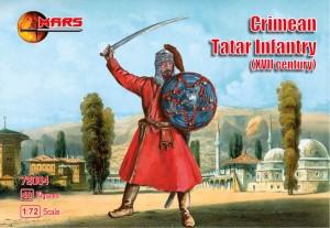 Mars Figures 1/72 XVII Century Crimean Tartar Infantry (48)
