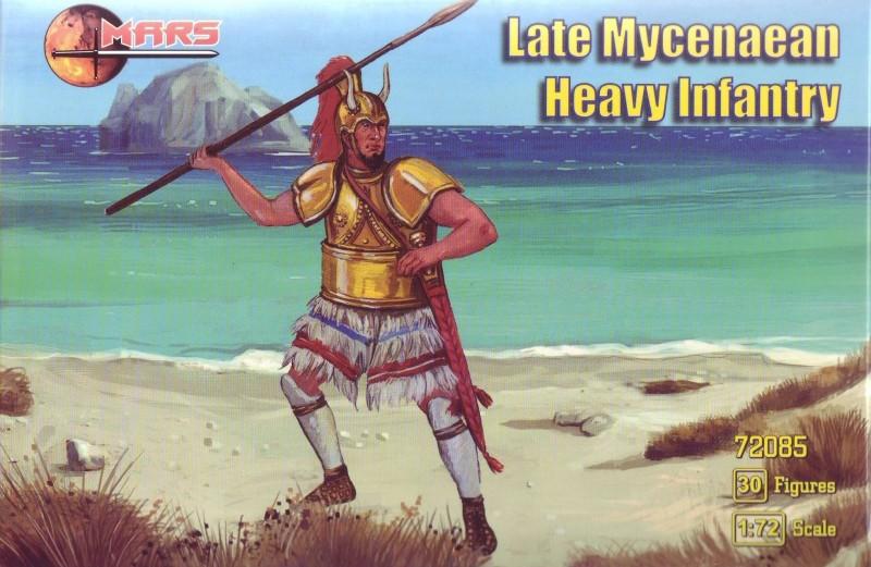 Mars Figures 1/72 Late Mycenaean Heavy Infantry (30)