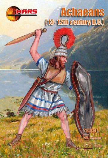 Mars Figures 1/72 13-12th Century BC Achaean Warriors (40)