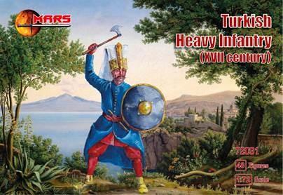 Mars Figures 1/72 XVII Century Turkish Heavy Infantry (48)