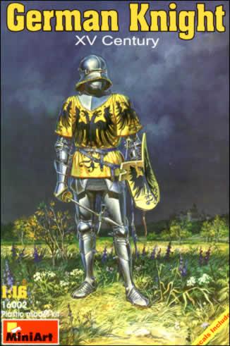 Image 0 of Miniart Models 1/16 XV Century German Knight