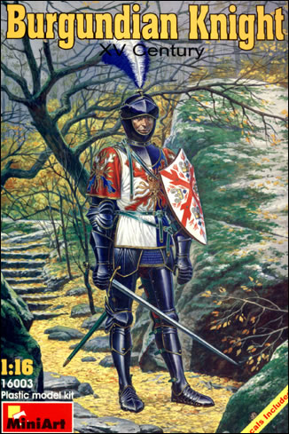 Image 0 of Miniart Models 1/16 XV Century Burgundian Knight