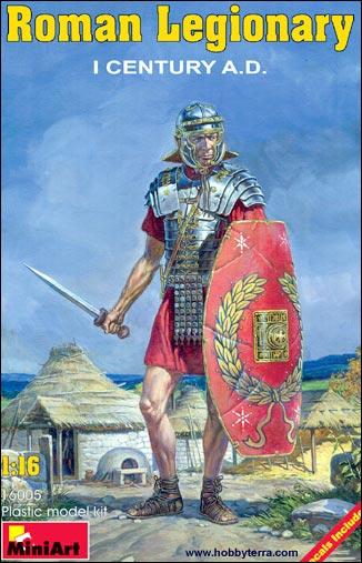 Image 0 of Miniart Models 1/16 I Century AD Roman Legionary
