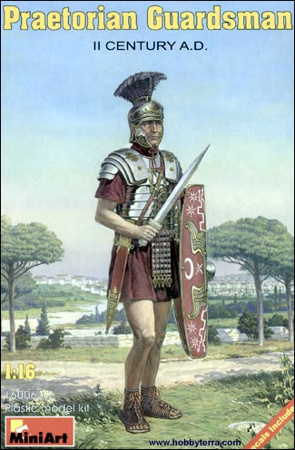 Miniart Models 1/16 II Century AD Praetorian Guardsman