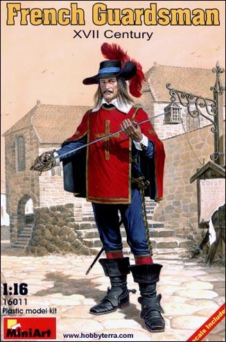 Miniart Models 1/16 XVII Century French Guardsman