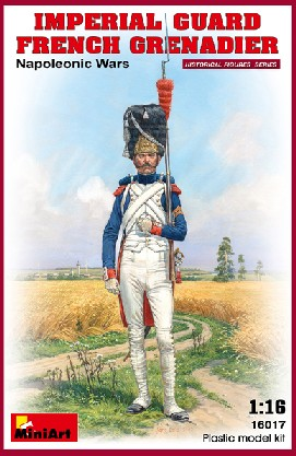 Miniart Models 1/16 Imperial Guard French Grenadier Napoleonic Wars