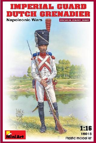 Miniart Models 1/16 Imperial Guard Dutch Grenadier Napoleonic Wars