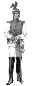 Image 0 of Miniart Models 1/16 Russian Officer Horse Guards Regiment