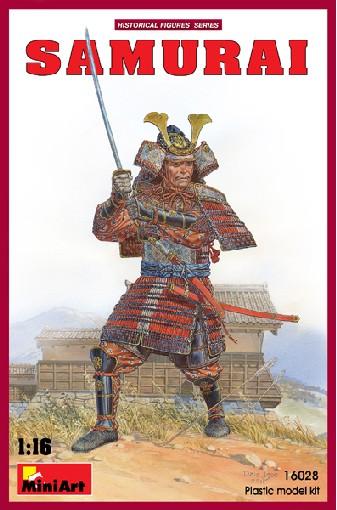 Miniart Models 1/16 Samurai Warrior