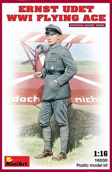 Miniart Models 1/16 Ernst Udet WWI Flying Ace