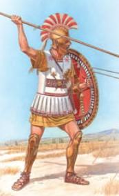 Image 0 of Miniart Models 1/16 Greek Hoplite V Century BC