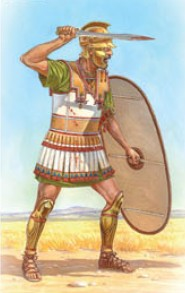 Image 0 of Miniart Models 1/16 Libyan Warrior III Century BC