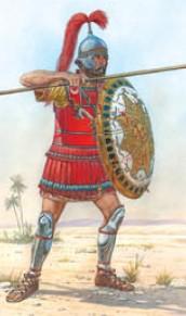 Miniart Models 1/16 Carthaginian Guards Warrior III Century BC