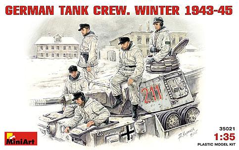 Image 0 of Miniart Models 1/35 German Tank Crew Winter 1943-45 (5)