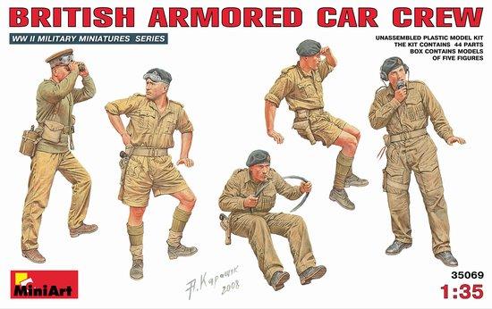 Miniart Models 1/35 British Armored Car Crew (5)