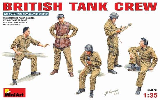 Image 0 of Miniart Models 1/35 British Tank Crew (5)