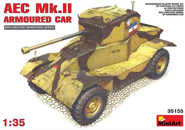 Miniart Models 1/35 AEC Mk II Armored Car