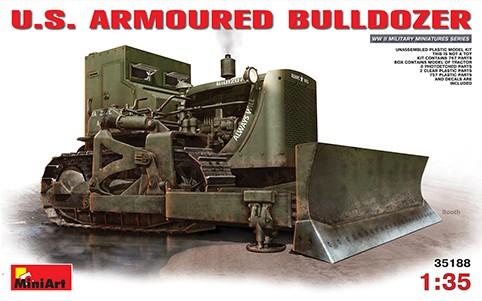 Image 0 of Miniart Models 1/35 US Armored Bulldozer