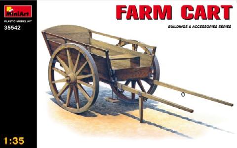 Miniart Models 1/35 Farm Cart Wooden Type (D)