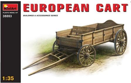Miniart Models 1/35 European Cart Wooden Type