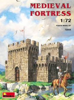 Miniart Models 1/72 Medieval Fortress