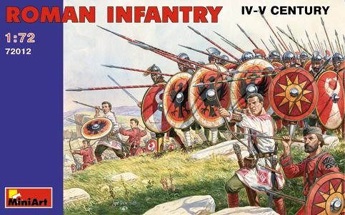 Miniart Models 1/72 IV-V Century Roman Infantry (48)