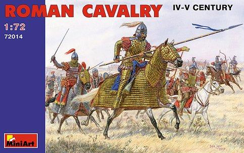 Miniart Models 1/72 IV-V Century Roman Cavalry (20 w/Horses) (D)