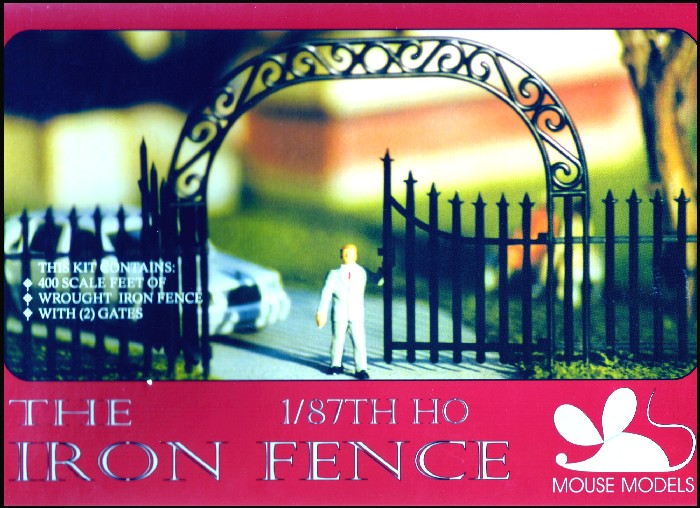 Image 0 of Mouse Models HO Iron Fence
