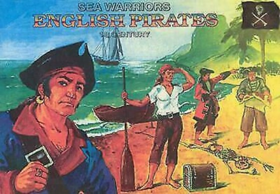 Orion Figures 1/72 English Pirates Sea Warriors XVIII Century (44)