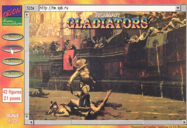 Orion Figures 1/72 Roman Gladiators (42)