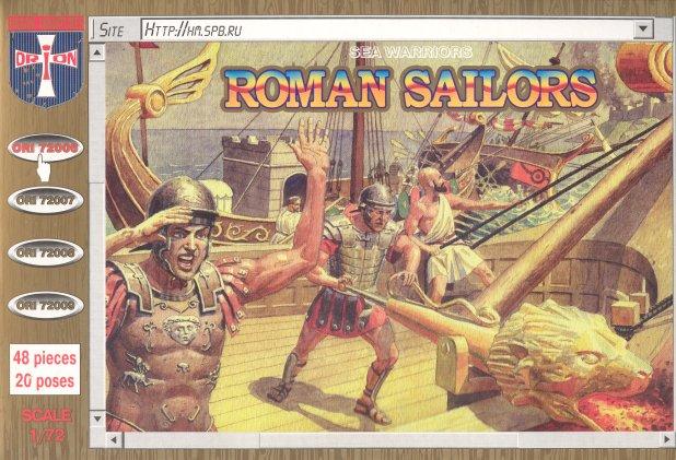 Orion Figures 1/72 Roman Sailors (48)