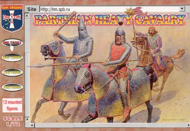 Orion Figures 1/72 Parthian Heavy Cavalry (12 Mtd)