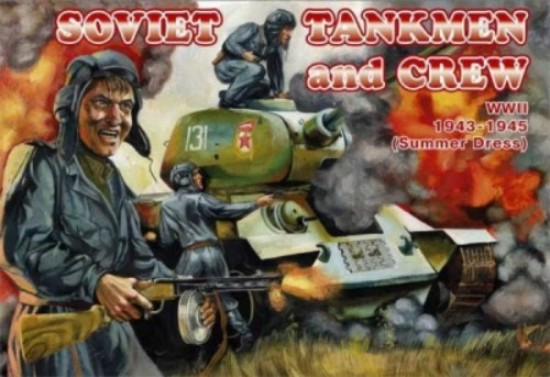 Orion Figures 1/72 Soviet Tankmen & Crew Summer Dress 1943-45 (39)