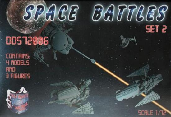 Orion Figures 1/72 Dark Dream Studio: Space Battles Flying & Unmanned Aerial Veh