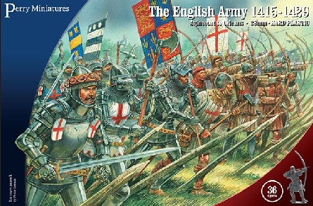 Perry Miniatures 28mm The English Army 1415-1429 (36) 801