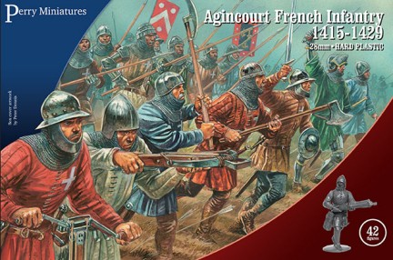Perry Miniatures28mm Agincourt French Infantry 1415-1429 (42) 802