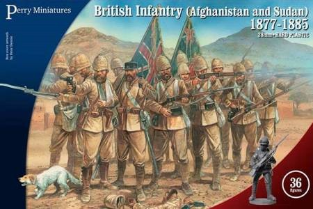 Perry Miniatures 28mm British Infantry in Afghanistan & Sudan 1877-85 (36) 901