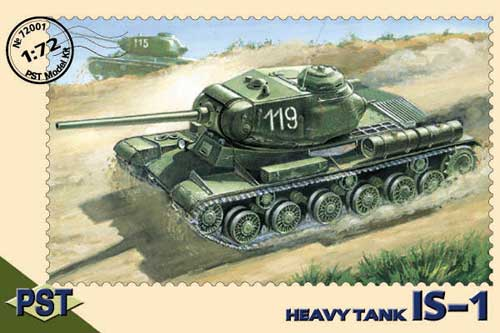 Image 0 of PST Models 1/72 IS1 Soviet Heavy Tank 72001