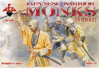 Red Box Figures  1/72 Japanese Warrior Monks (Sohei) (48)