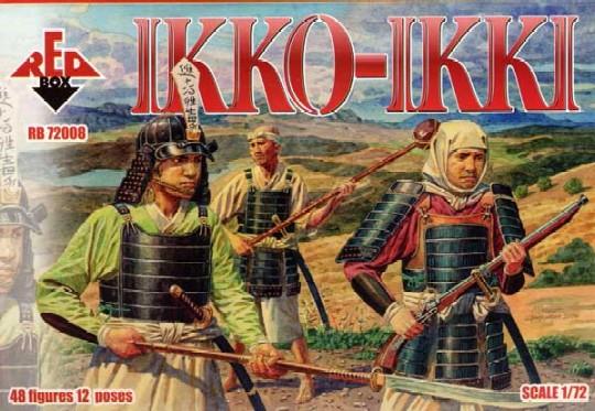 Red Box Figures  1/72 Ikko-Ikki Militant Buddhist & Soldiers XV-XVI Century (48)