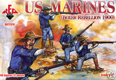 Red Box Figures  1/72 US Marines Boxer Rebellion 1900 (48)