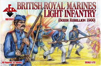 Red Box Figures  1/72 British Royal Marine Light Infantry Boxer Rebellion 1900 (