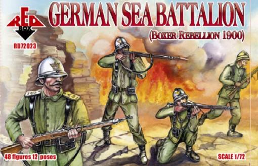 Red Box Figures  1/72 German Sea Battalion Boxer Rebellion 1900 (48)