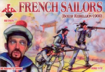 Red Box Figures  1/72 French Sailors Boxer Rebellion 1900 (48)