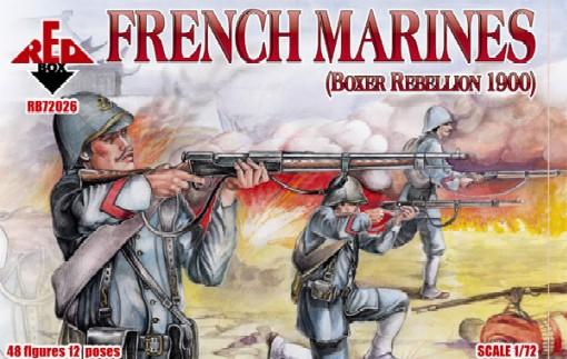 Red Box Figures  1/72 French Marines Boxer Rebellion 1900 (48)