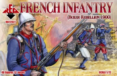 Red Box Figures  1/72 French Infantry Boxer Rebellion 1900 (48)