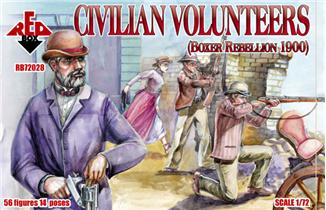 Red Box Figures  1/72 Civilian Volunteers Boxer Rebellion 1900 (56)