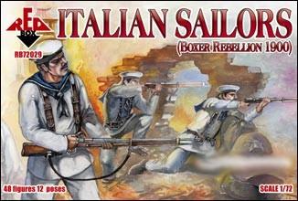 Red Box Figures  1/72 Italian Sailors Boxer Rebellion 1900 (48)